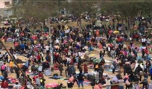 La Victoria: barrio de El Porvenir fue tomado por decenas de comerciantes ambulantes