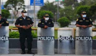 Casi 120 mil policías recibirán bono extraordinario de 720 soles por sacrificada labor en pandemia