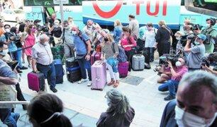Coronavirus en España: primeros turistas comenzaron a llegar a Mallorca