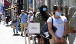Coronavirus de Reino Unido: reapertura de tiendas generó largas filas
