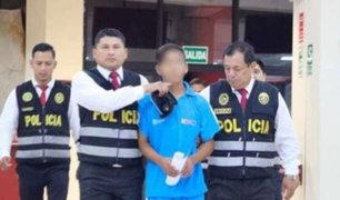 Dictan 8 años de internamiento a adolescente que violó y asesinó a niña de 4 años
