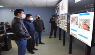SMP: cámaras controlan en tiempo real el cumplimiento de las normas sanitarias en los mercados