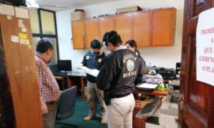 Fiscalía y Diviac intervienen municipio de Pueblo Libre por presuntos casos de corrupción