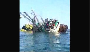 La Libertad: pescadores salvan de morir luego que su embarcación se hundió