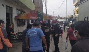 SJL: sujetos armados balearon a dos hermanos en plena calle