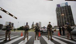 Ministro de Defensa señaló que evaluarán presencia de militares en calles para apoyar seguridad