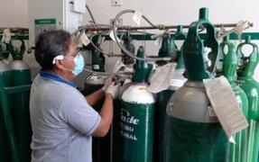 Minsa envió cargamento de 57 balones de Oxígeno a San Martín