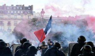 Francia: personal de salud salió a las calles para exigir mejores condiciones laborales