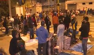 La Victoria: miles de ambulantes se apropian de avenida 28 de Julio