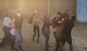 Huaycán: ebrio arma pelea en velorio por intentar colarse a la fuerza