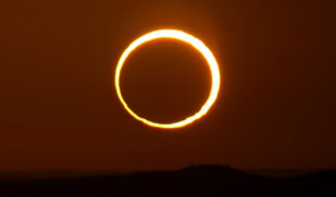 """""""El Anillo de fuego"""": Eclipse solar podrá ser visto este domingo en algunas partes del planeta"""