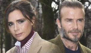 David y Victoria Beckham dieron positivo por COVID-19