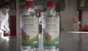 Ica: productores de pisco elaboran alcohol desinfectante frutado