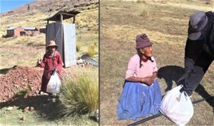 Entregan ayuda a familias de Puno y Madre de Dios afectadas por estado de emergencia