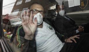 Pier Figari dejó penal Castro Castro para cumplir comparecencia con restricciones