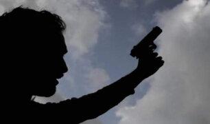 Iquitos: PNP dispersó con disparos al aire a personas que se aglomeraban fuera de bancos