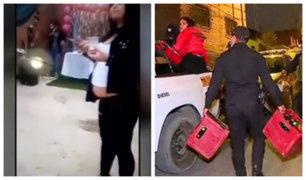 Chorrillos: intervienen a 15 personas que realizaban fiesta en plena cuarentena