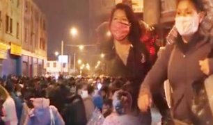 La Victoria: ambulantes abarrotan jirón Antonio Raimondi desde la madrugada