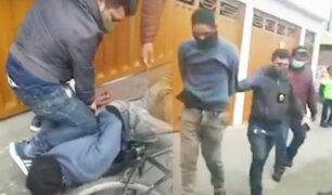 Policía captura a extranjero que asaltaba a peatones en El Agustino
