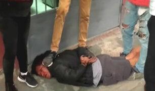 Ayacucho: población lincha a delincuente y casi lo queman vivo
