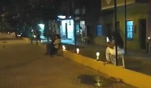 Tumbes: vecinos oraron en las calles por enfermos con COVID-19