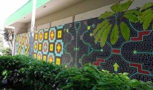 San Isidro: vecinos indignados tras borrado de mural de artistas shipibo-conibo