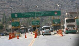 Dos concesionarias que administran vías al interior del país vuelven a cobrar peajes desde hoy
