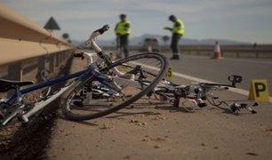 Ciclista quedó gravemente herido tras ser atropellado por camión en Chincha