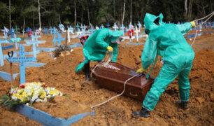 Brasil se acerca al millón de contagiados y a 50 mil muertos por coronavirus