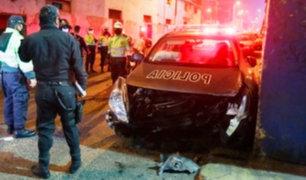 Rímac: Tres policías heridos durante persecución y balacera