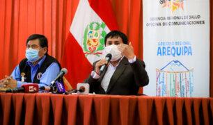 Gobernador regional de Arequipa pidió encomendarse a Dios ante incremento de casos de Covid-19