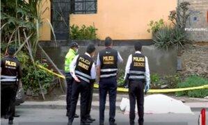 San Juan de Lurigancho: Hombre es asesinado a balazos delante de su pareja