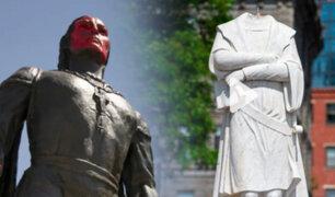 Estados Unidos: remueven estatua de Cristóbal Colón por protestas antirracistas