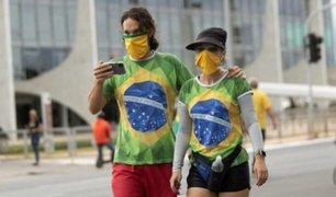 Brasil traspasó la barrera de un millón de contagiados por COVID-19