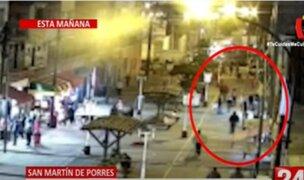 San Martín de Porres: Un muerto y un herido deja ataque de sicarios en Mercado de Caquetá