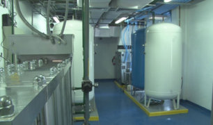 Covid-19: empresa privada donó planta de oxígeno al hospital de Huaral