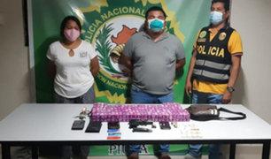 Piura: intervienen pareja con más de 200 frascos de Ivermectina de contrabando