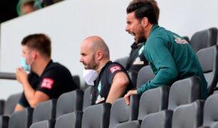 Bundesliga: Werder Bremen perdió con Pizarro y quedó al borde del descenso