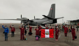 Covid-19: viajan a Loreto 15 profesionales de la salud para fortalecer atención