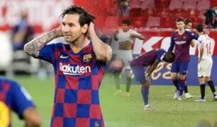 El Barcelona empata 0-0 con el Sevilla por la LaLiga de España