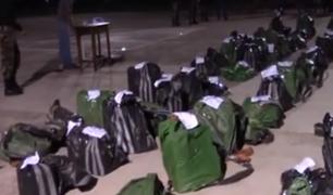 Cusco: capturan a 15 personas con más de una tonelada de cocaína