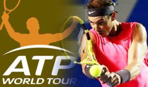 Circuito ATP de tenis vuelve el 14 de agosto