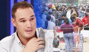 """Forsyth sobre dispersión de ambulantes por La Victoria: """"no solucionó nada"""""""