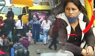 La Victoria: desborde y mafias en Gamarra