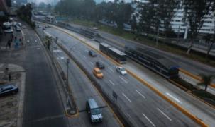 Reabren tránsito vehicular en Paseo de la República, Costa Verde y Javier Prado