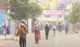Comerciantes regresan a Gamarra en día de reapertura