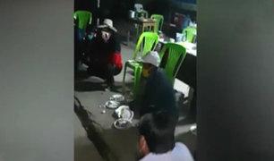 La Libertad: detienen a trabajadores de la municipalidad de Otuzco por realizar fiesta