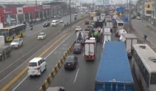 Choferes incómodos por retorno de tráfico a la Vía de Evitamiento