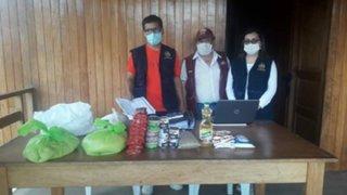 Cusco: hallan canastas de alimentos que debieron ser entregados en abril