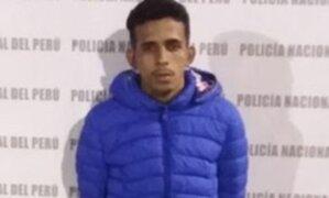 Trujillo: Policías capturan a sujeto que asaltaba a mujeres con la modalidad del cogoteo